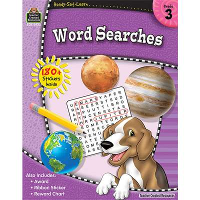 Rsl Word Searches Gr 3 By Teacher Created Resources