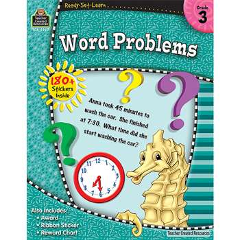 Rsl Word Problems Gr 3 By Teacher Created Resources