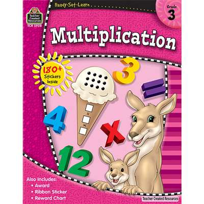 Rsl Multiplication Gr 3 By Teacher Created Resources