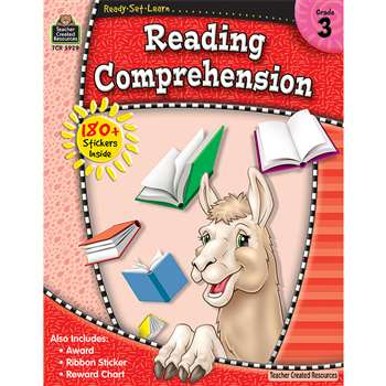 Rsl Reading Comprehension Gr 3 By Teacher Created Resources