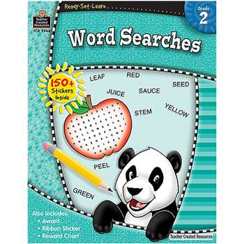 Ready Set Learn Word Searches Grade 2 By Teacher Created Resources