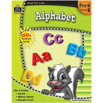 Ready Set Learn Alphabet Grade Pk-K By Teacher Created Resources