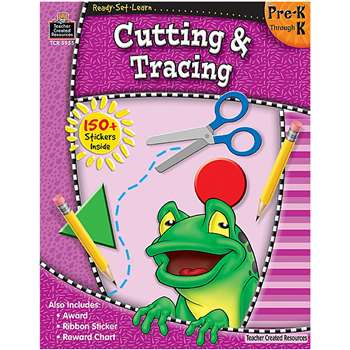Ready Set Learn Cutting & Tracing Grade Pk-K By Teacher Created Resources