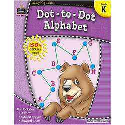 Ready Set Learn Dot A Dot Alphabet By Teacher Created Resources