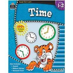 Ready Set Learn Time Grade 1-2 By Teacher Created Resources