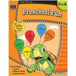 Ready Set Learn Preschool Fun Grade Pk By Teacher Created Resources