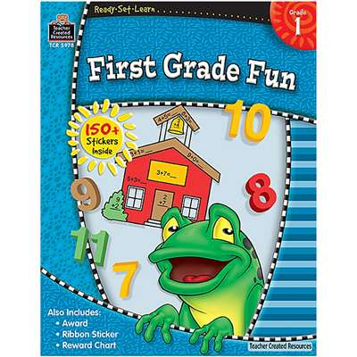 Ready Set Learn First Grade Fun By Teacher Created Resources