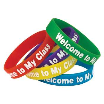 Welcome To My Class Wristbands, TCR6023