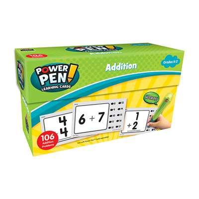 Math Cards Addition, TCR6456