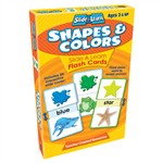 Shapes & Colors Slide & Learn Flash Cards By Teacher Created Resources