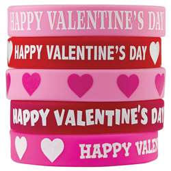 Happy Valentines Day Wristbands, TCR6564