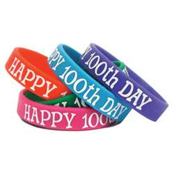 Happy 100Th Day Wristbands By Teacher Created Resources