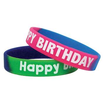 Fancy Happy Birthday Wristbands By Teacher Created Resources