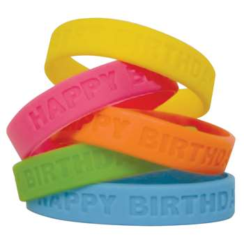 Happy Birthday 2 Wristbands By Teacher Created Resources