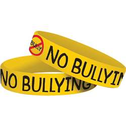 No Bullying Wristbands 10 Pk By Teacher Created Resources