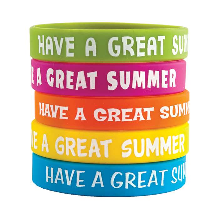Have A Great Summer Wristbands 10Pk, TCR6583