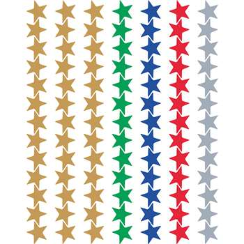 Asstd Foil Stars Valupak Stickers, TCR6644
