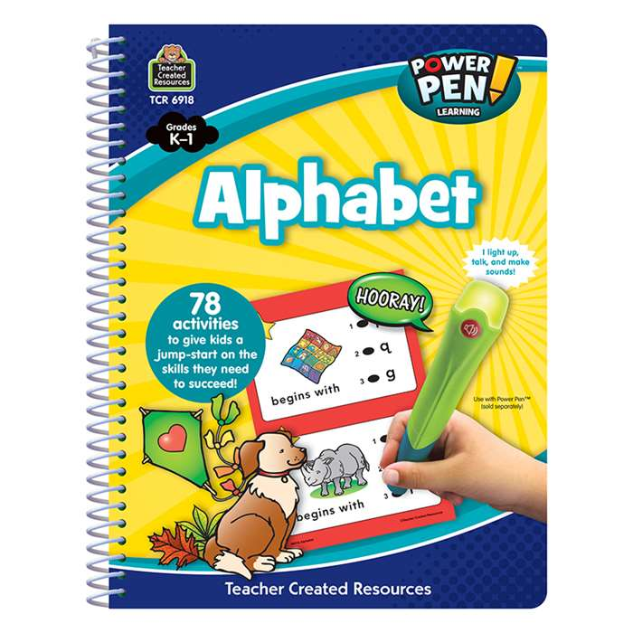 Power Pen Learning Book Alphabet, TCR6918
