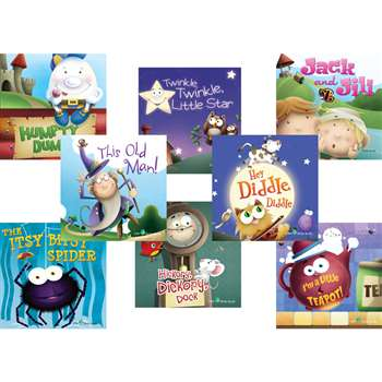 Nursery Rhymes Books Set Of All 8, TCR693673