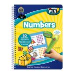 Power Pen Learning Book Numbers Spiral, TCR6982