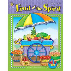Fruit Of The Spirit Book By Teacher Created Resources