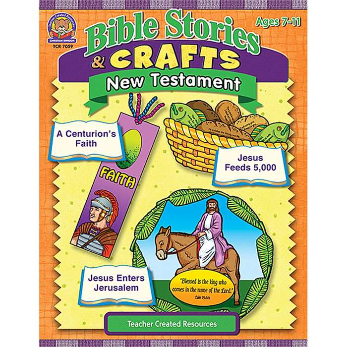 Bible Stories & Crafts New Testament By Teacher Created Resources