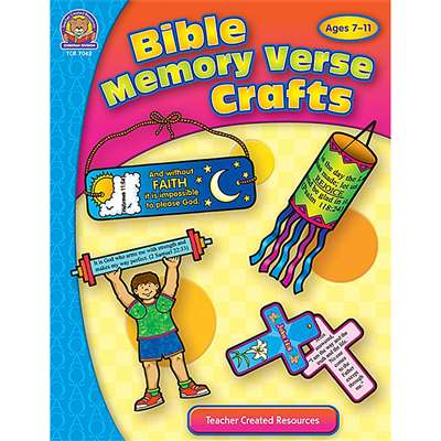 Bible Memory Verse Crafts By Teacher Created Resources