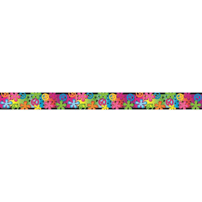Retro Rainbow Double Sided Border, TCR73144
