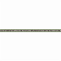 Zebra Chevron Dot Ribbon Runner, TCR73257
