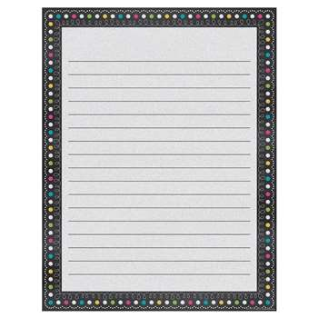 Chalkboard Brights Lined Chart, TCR7532