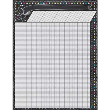 Chalkboard Brights Incentive Chart, TCR7564