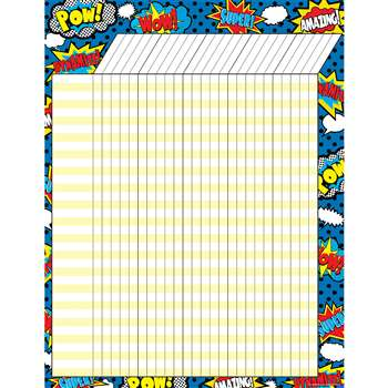 Superhero Incentive Chart, TCR7568