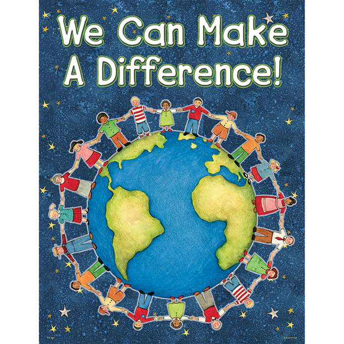 Sw We Can Make A Difference Chart By Teacher Created Resources