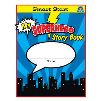 Superhero Smart Start Gr 1-2 Storybook Vertical Fo, TCR77074