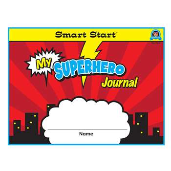 Superhero Smart Start Gr K-1 Journal Horizontal Fo, TCR77079