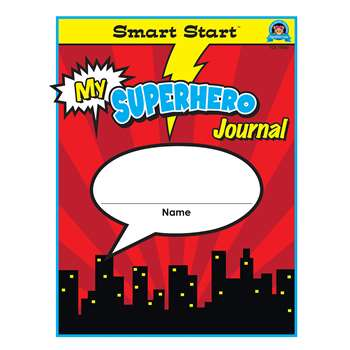 Superhero Smart Start Gr 1-2 Journal Vertical Form, TCR77080