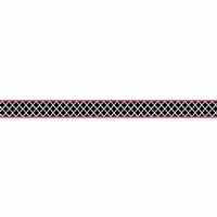 Wild Moroccan Black & Pink Double Sided Border, TCR77098