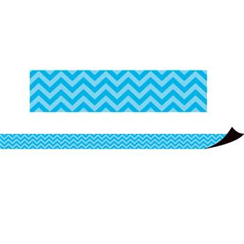 Magnetic Borders Aqua Chevron, TCR77125
