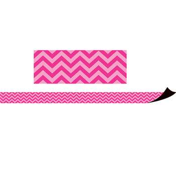 Magnetic Borders Hot Pink Chevron, TCR77126
