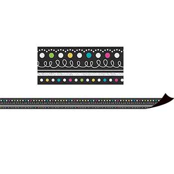 Chalkboard Brights Magnetic Borders, TCR77132