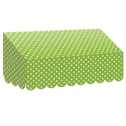 Lime Polka Dots Awning, TCR77162