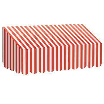 Red & White Stripes Awning, TCR77165