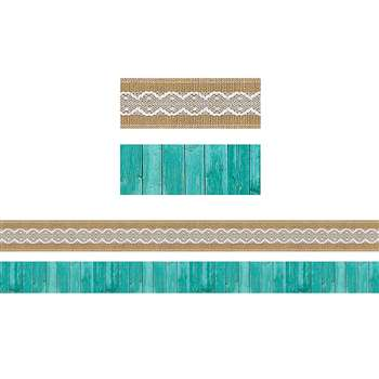 Shabby Chic Double-Sided Border, TCR77169
