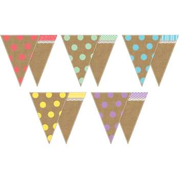 Shabby Chic Pennants, TCR77170