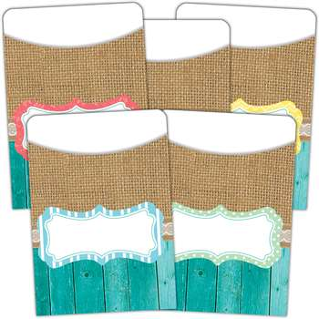 Shabby Chic Library Pockets Multi Pack, TCR77178