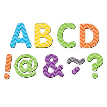 "Chevron Classic 2"" Magnetic Letters, TCR77187"