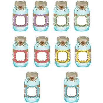 Shabby Chic Mason Jars Accents, TCR77191