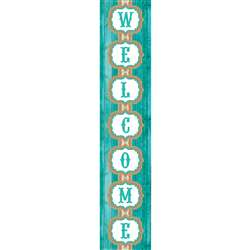Shabby Chic Welcome Banner, TCR77197