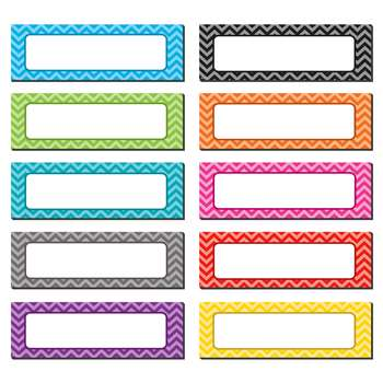 Chevron Labels Magnetic Accents, TCR77204