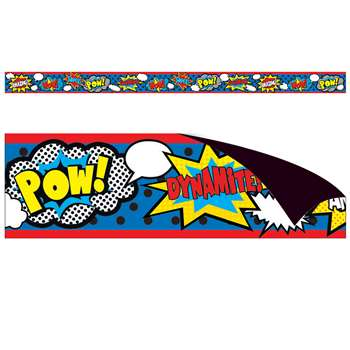 Superhero Magnetic Strips, TCR77223